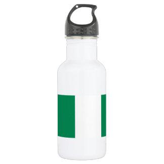 Nigeria National World Flag 532 Ml Water Bottle