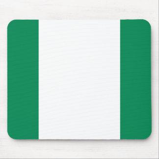 Nigeria National World Flag Mouse Pad