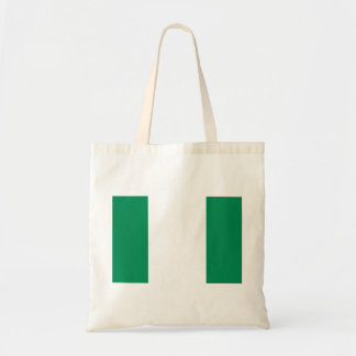 Nigeria National World Flag Tote Bag