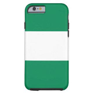 Nigeria National World Flag Tough iPhone 6 Case