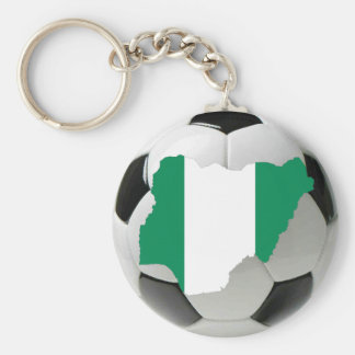 Nigeria soccer key ring