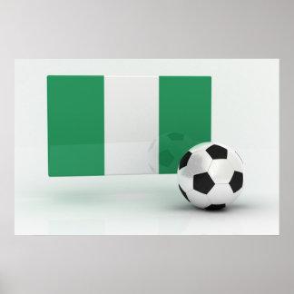 Nigeria Soccer Poster