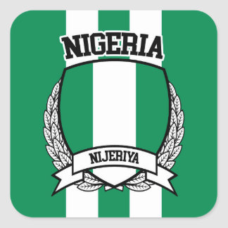 Nigeria Square Sticker