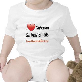 Nigerian Banking Email Humor Bodysuit
