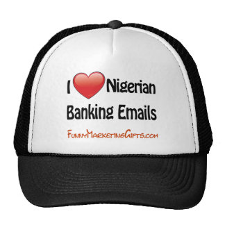 Nigerian Banking Email Humor Hat