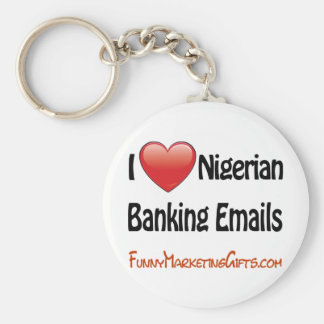 Nigerian Banking Email Humor Keychains