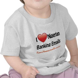 Nigerian Banking Email Humor Shirt