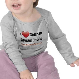 Nigerian Banking Email Humor Shirts