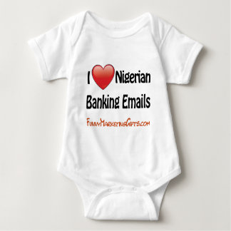 Nigerian Banking Email Humor T-shirt