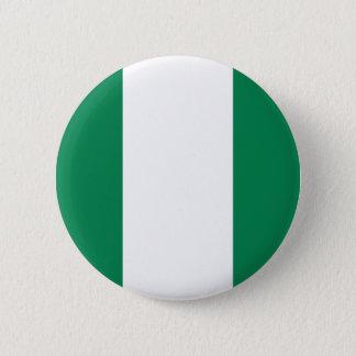 Nigerian flag 6 cm round badge