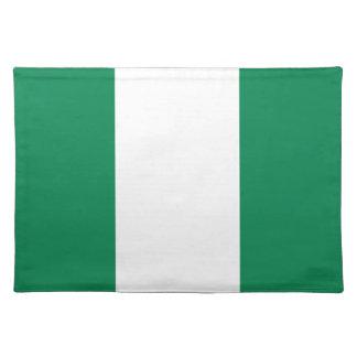 Nigerian flag placemat