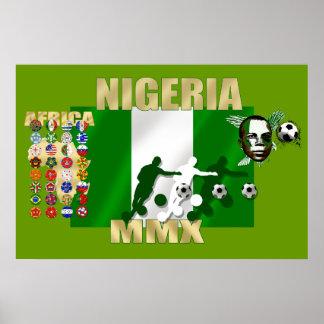 Nigerian pride 2010 Naija Super Eagles Poster