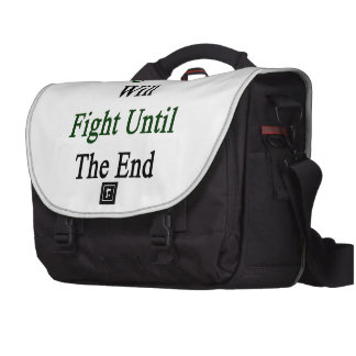 Nigerians Will Fight Until The End Commuter Bag