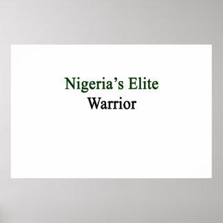 Nigeria's Elite Warrior Poster