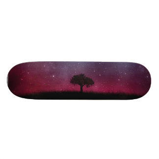 Night 21.3 Cm Mini Skateboard Deck