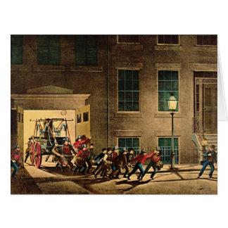 Night Alarm 1854 Card