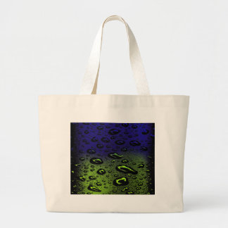 Night And Day Dew Large Tote Bag