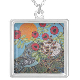 Night and Day (painting) necklace