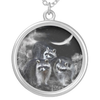 Night Bandits Wearable Art Necklace