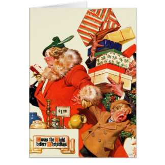 Night before Christmas Greeting Cards