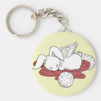 Night before Christmas flutterby bunny keyring Key Chain