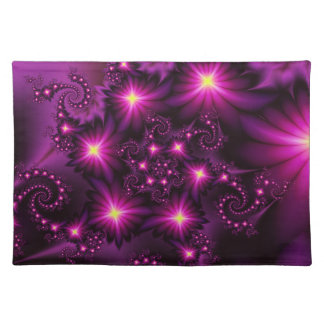 Night bloom placemats
