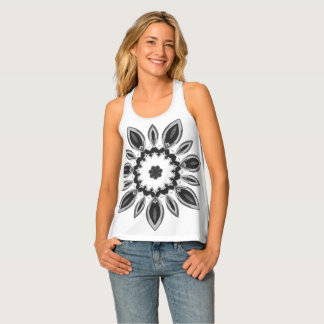 """Night Bloom"" Sleeveless Singlet"
