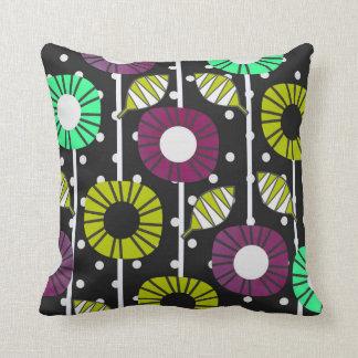 Night bloomers cushion