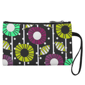 Night bloomers wristlet