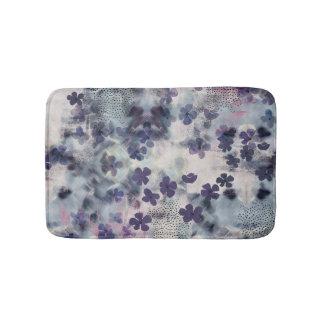 Night Blossom.Floral Bathmat