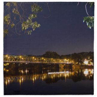 Night Bridge Napkin
