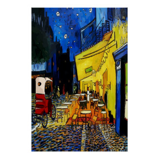 Night Cafe 1915 Poster