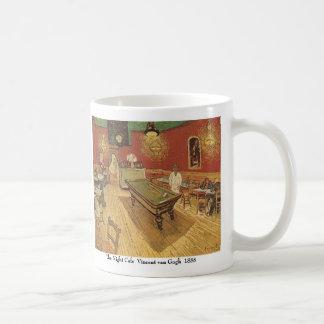 Night Cafe by Vincent van Gogh Basic White Mug