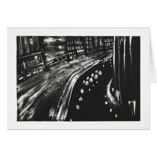 Night Canal Card
