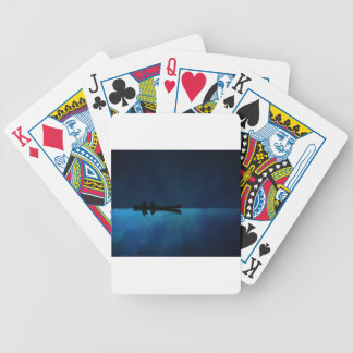 Night Canoe Bicycle Playing Cards