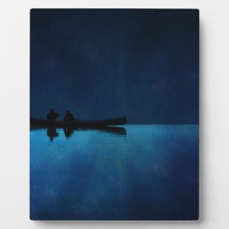 Night Canoe Plaque