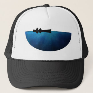 Night Canoe Trucker Hat