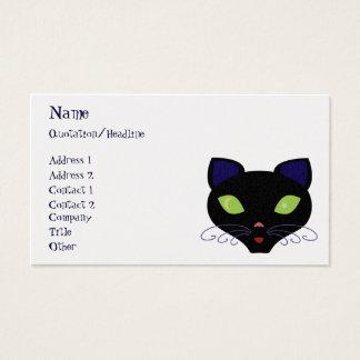 Night Cat Business Card