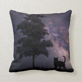Night Cat Cushion