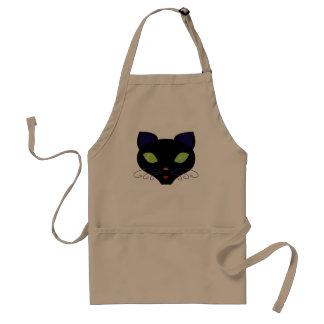 Night Cat Standard Apron