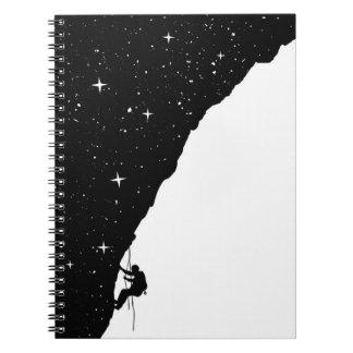 Night climbing notebook