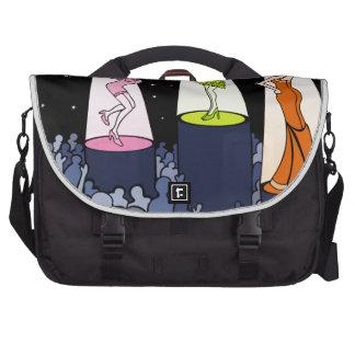Night Club Music Artists Cartoon Commuter Bags