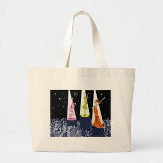 Night Club Music Artists Cartoon Jumbo Tote Bag