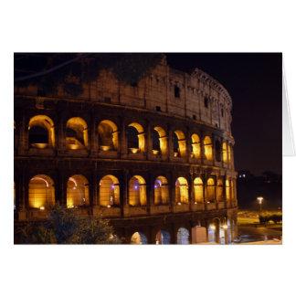 night Colosseum Card