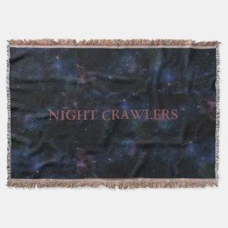 Night Crawlers Throw Blanket