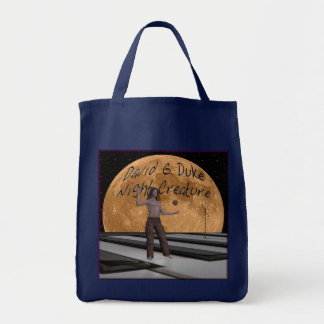 Night Creature front Cover Canvas Bag