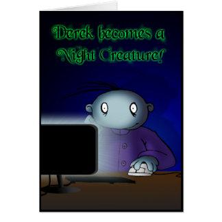 Night Creature Greeting Card