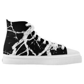 Night creatures printed shoes
