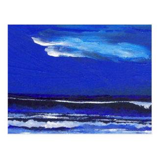 Night Dance  CricketDiane Ocean Art Postcard