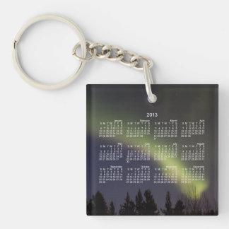 Night Dancing; 2013 Calendar Single-Sided Square Acrylic Key Ring